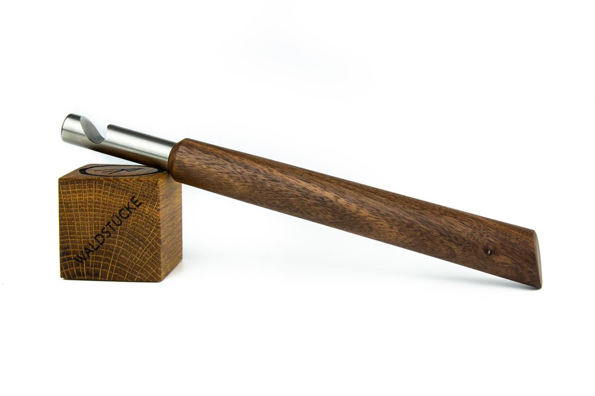Flaschenöffner  Nussbaum
